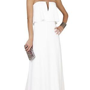 BCBG White Gown *worn once*